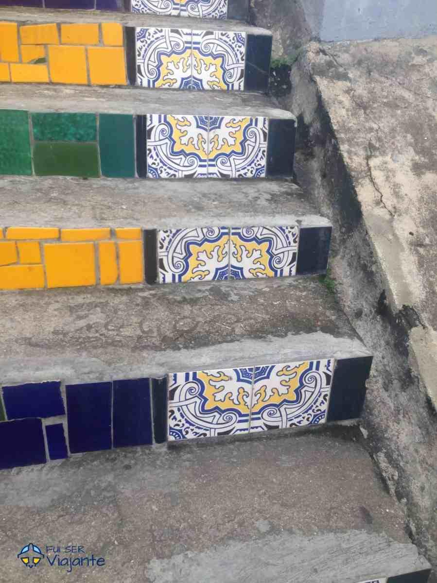 Escadaria Selarón - Santa Teresa