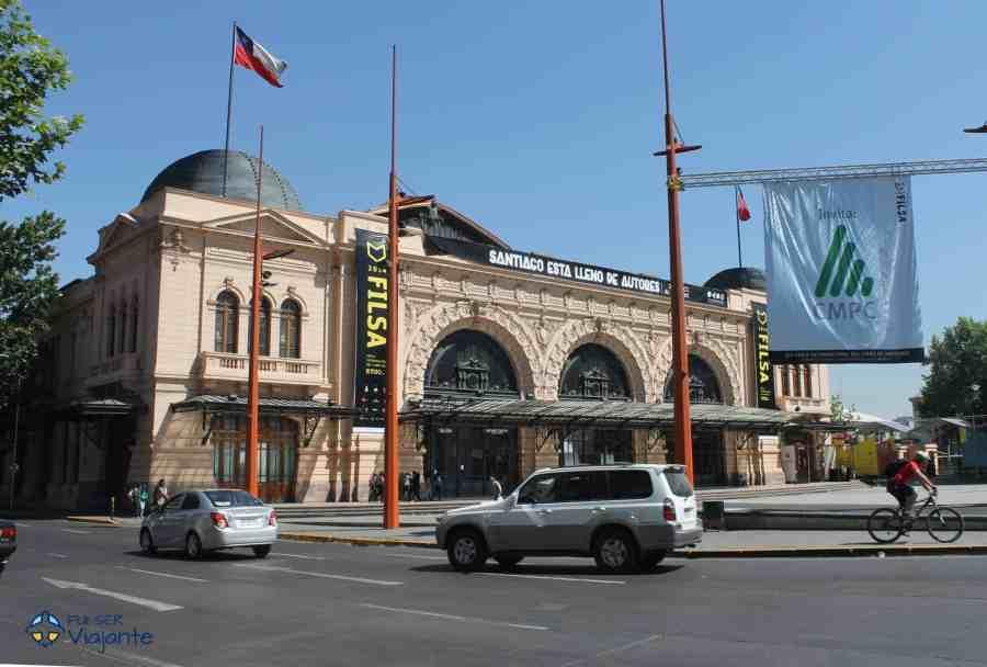Centro Cultural Estação Mapocho em Santiago