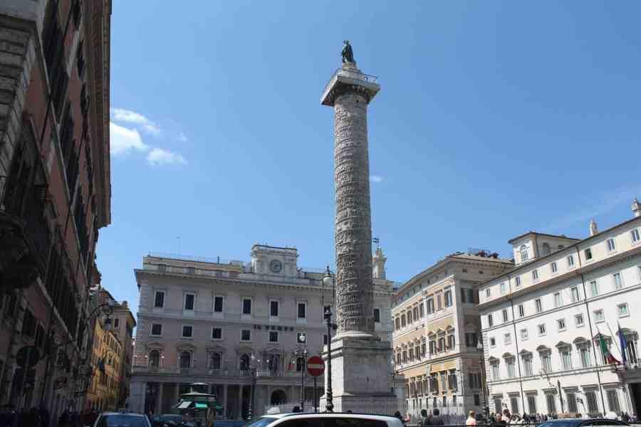Colona- Praças, fontes e obeliscos de Roma