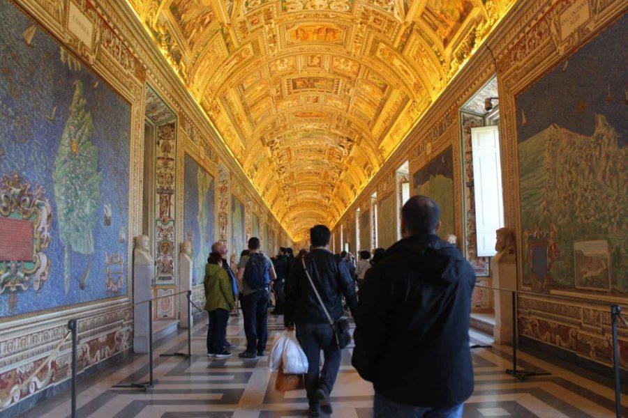 Museus do Vaticano - Sala de Mapas