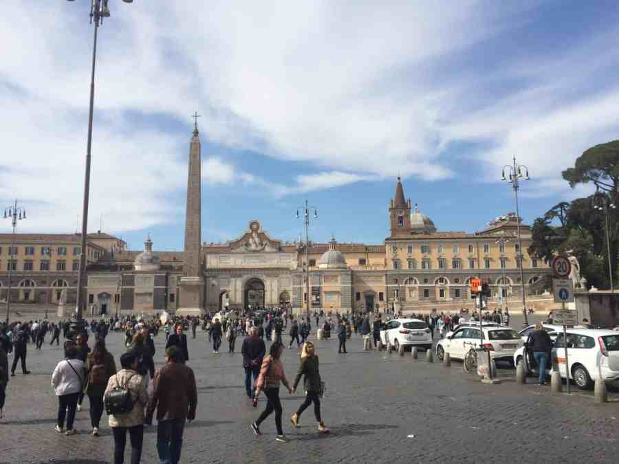 Piazza del Popolo - Praças, fontes e obeliscos de Roma
