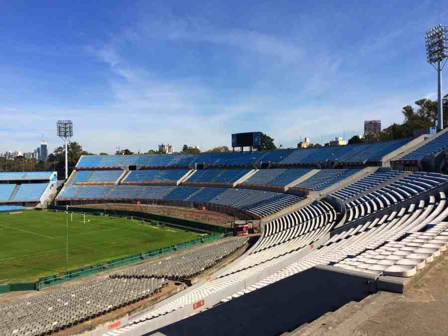 Estádio Centenario de Montevidéu e Museu do Futebol