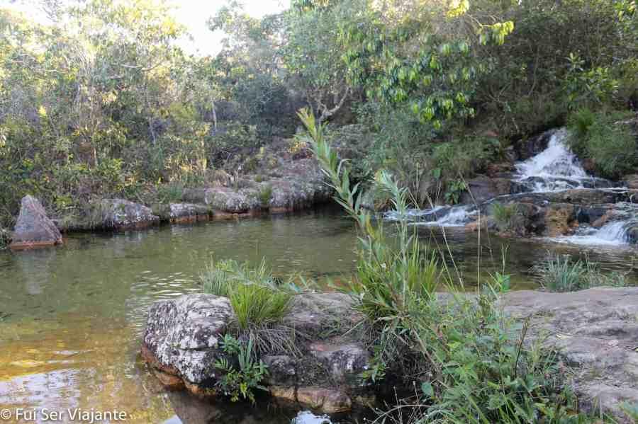 Poço da Vovó - Cachoeira dos Cristais - Chapada dos Veadeiros