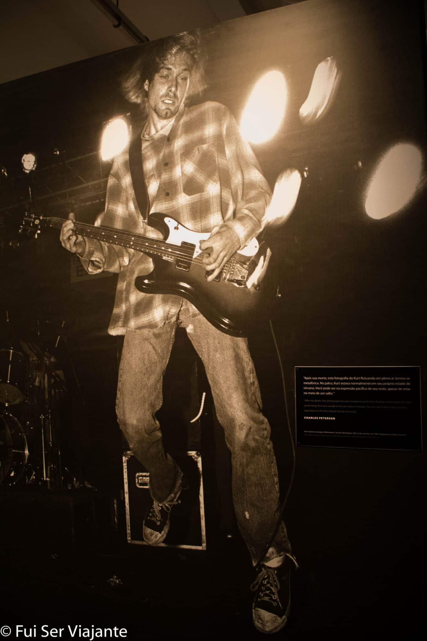 Exposição Nirvana: taking punk to the masses