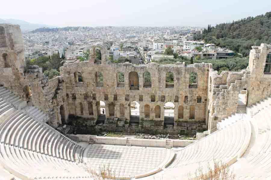 Acrópole de Atenas - Comer em Atenas - O que fazer em uma conexão longa em Atenas