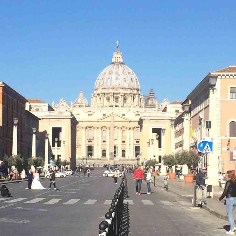 Basílica de São Pedro - Vaticano - Roteiro de 3 dias em Roma