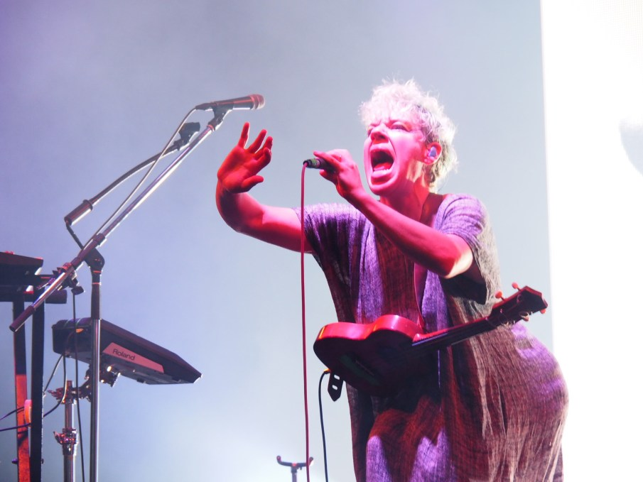 Tune-Yards at Fuji Rock Festival