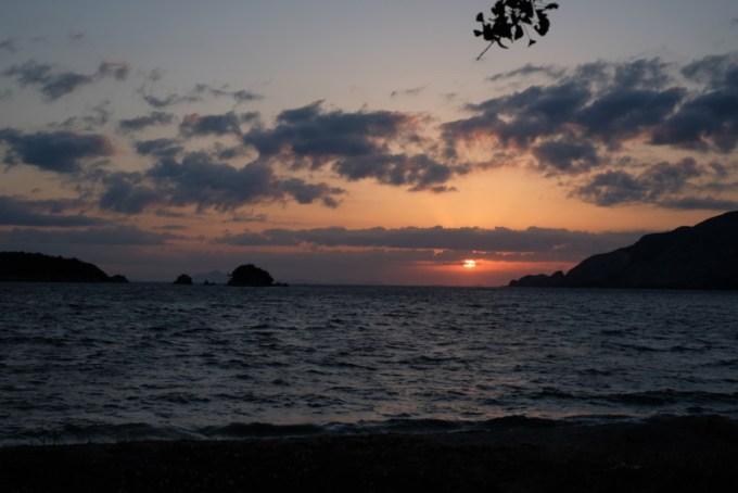 田井浜キャンプ場|日の出