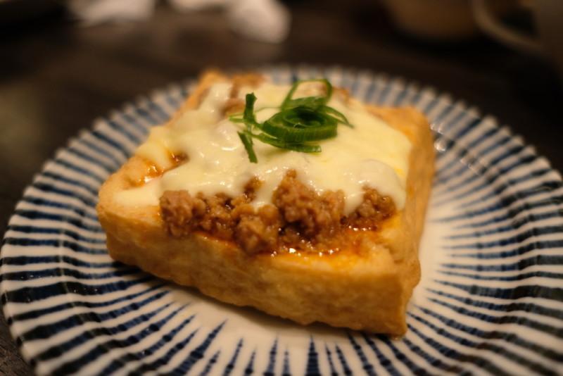 GYOZA OHSHO烏丸御池店|厚揚げとひき肉