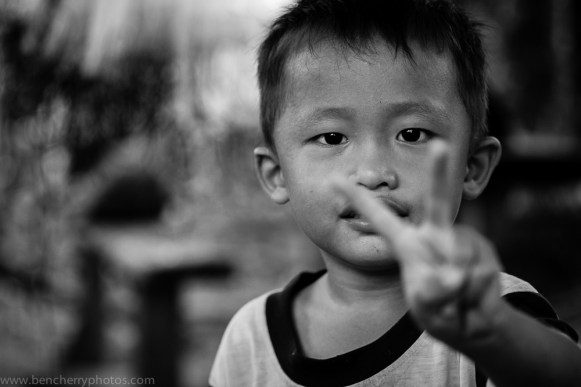 Young Malaysian boy