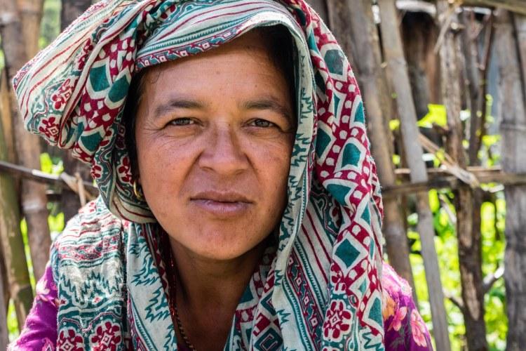 Dhan Kumari KC, Lakuri Danda health post volunteer, Lakuri Danda, Dolakha, Nepal.
