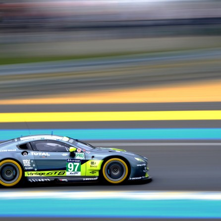 24 Hours of Le Mans Test - no97 Aston Martin Racing Vantage V8