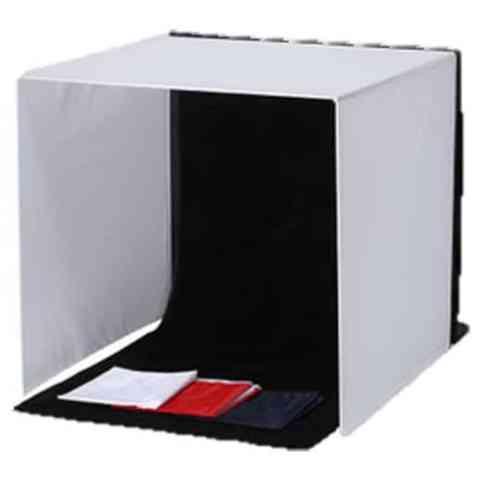 簡易 撮影ボックス 50cm×50cm×50cm 4色背景布付き