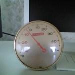 室内温度ー3℃