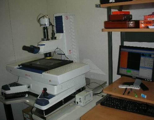 大阪府大東市のワイヤーカットやマシニングセンタ加工や形彫放電加工の有限会社フジムラの保有設備の高精度測定顕微鏡