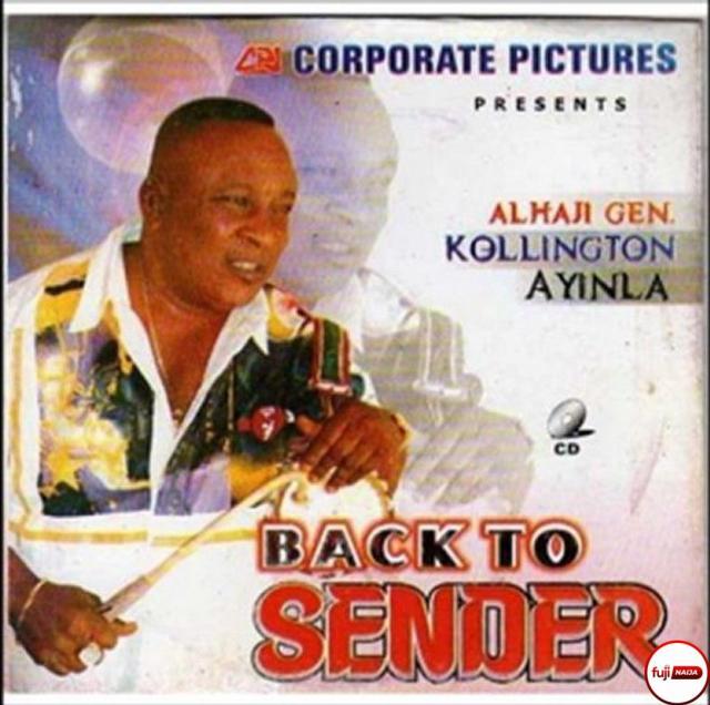 Ayinla Kollington - Back To Sender