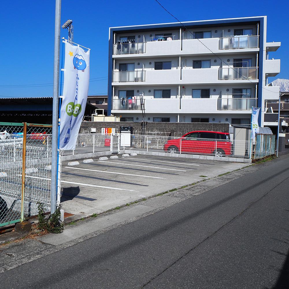 ふじさんBu-Bu保育園 駐車場