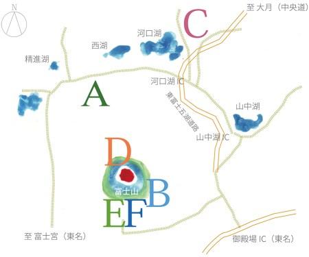 プライベートツアー地図