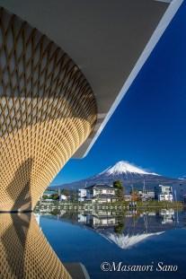 快晴と富士山2017.12.25