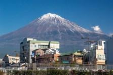 富士山せせらぎ広場より