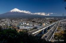 勘助坂からの富士山