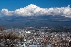 白尾山からの富士山