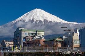 富士山せせらぎ広場から2020.1.19