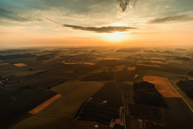 Sonnenaufgang über dem Land - Details | Fujifilm | X-T1 | 12mm
