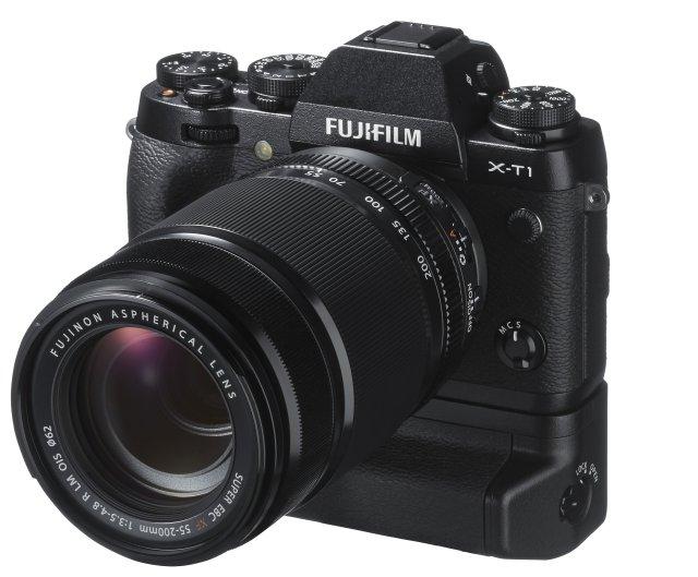 Fuji X-T1 con empuñadura