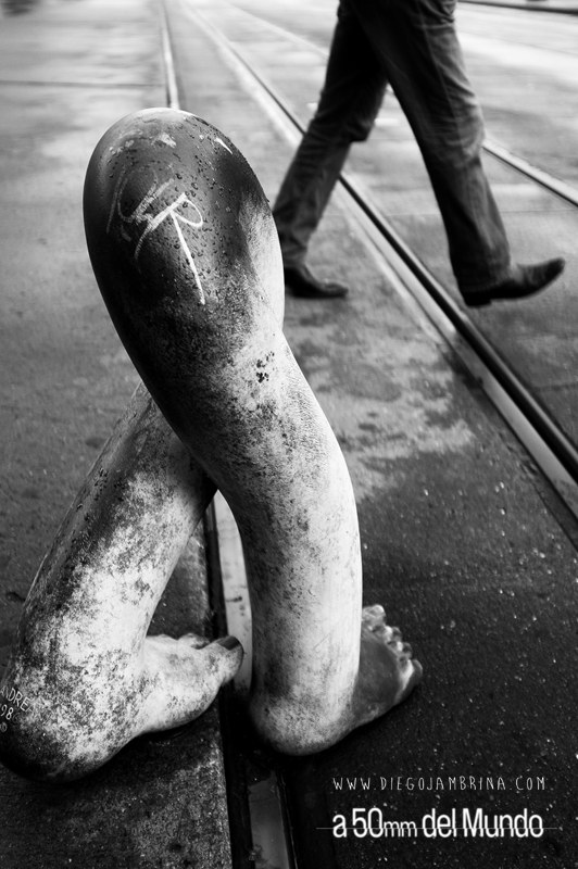 Un sueño con pies de hierro por Diego Jambrina con Fuji X100