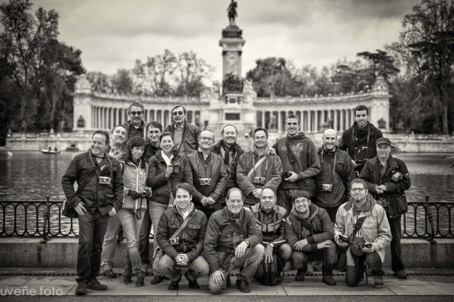 Foto oficial de la I KDD fujista en Madrid