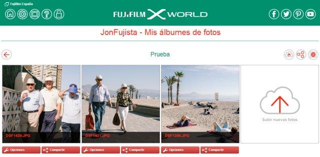 Fujifilm X World Cloud