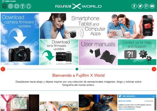 Fujifilm X World