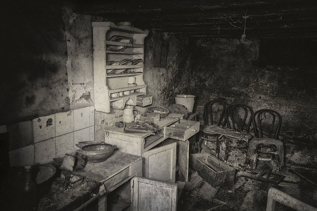 """""""Abandono de hogar"""" por Luis Cabal, con Fuji X-T1."""