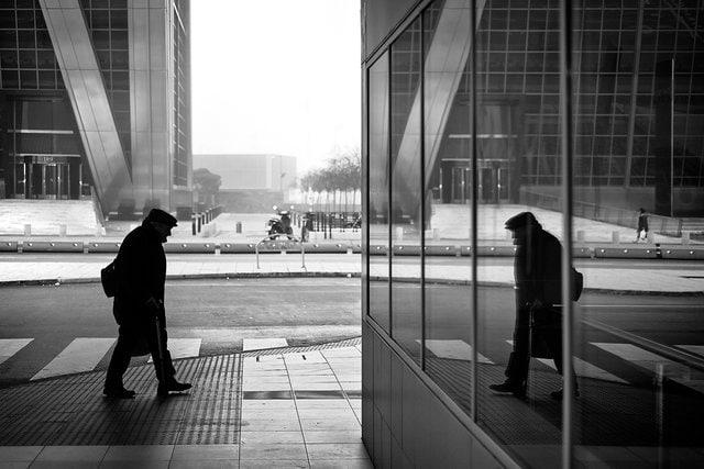 """""""Encuentro"""" por Javier Mirón, con Fuji X-Pro1."""