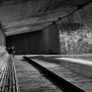 """""""La soledad es tiempo para pensar"""" por Damián Blanco, con Fuji X-Pro1."""