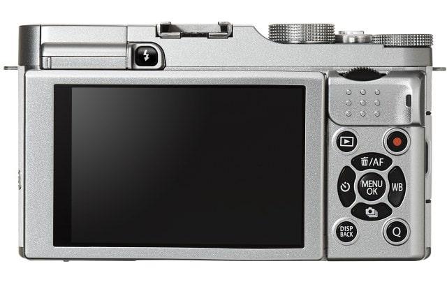 Fuji X-A2 trasera