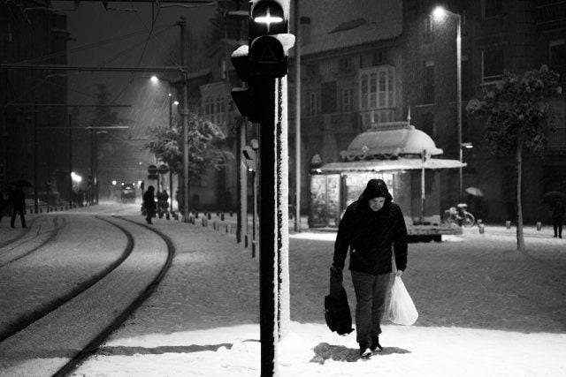 """""""Compras invernales"""" por Alfonso de Haro, con Fuji X-T1."""