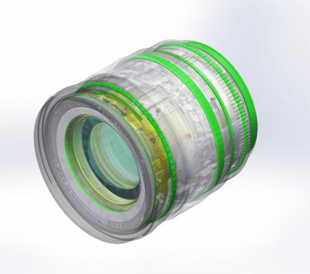 Sellado del Fujinon XF 16mm F1.4 R WR