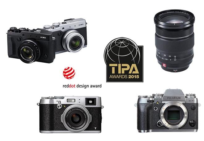 Premios TIPA y Red Dot 2015