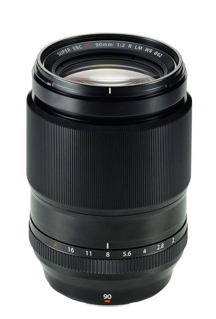 Fujinon XF 90mm F2 lateral