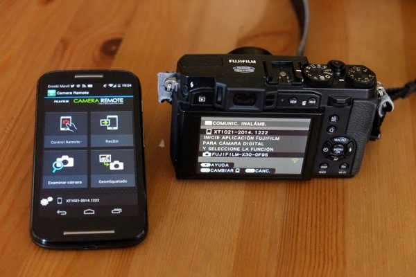 Fujifilm Camera Remote en Android