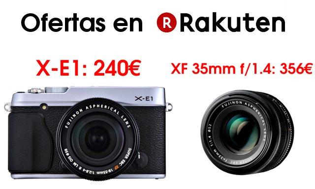 Ofertas junio Fujifilm Rakuten
