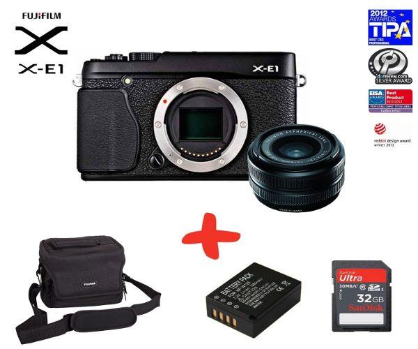 X-E1 + XF 18mm + Extras