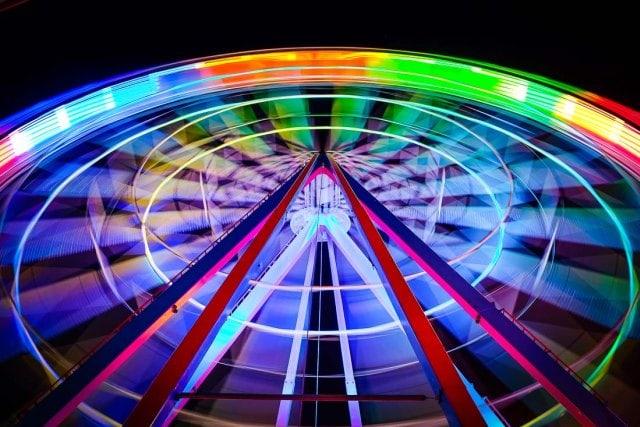 """""""Moving colours"""" por David Esteban, con Fuji X-E1."""