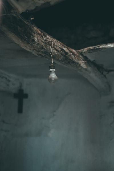 """""""La luz y la cruz"""" por Curro Mesa, con Fuji X-T1 + XF 35mm f/1.4."""