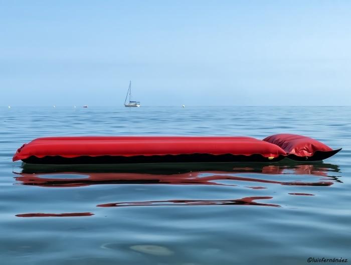 """""""Mi barco de recreo"""" por Luis Fernández, con Fuji X20."""