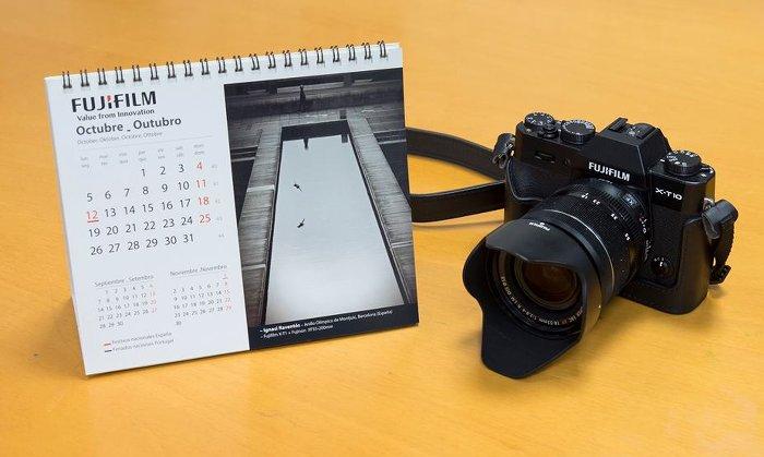 Concurso calendario Fujifilm 2016.