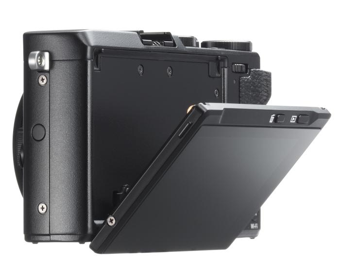Pantalla abatible Fujifilm X70