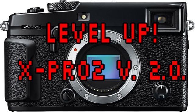 Firmware 2.0 para la Fuji X-Pro2.